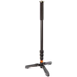 3 Legged Thing Trent Kit Monopod Profesional de aleación de Magnesio con base de estabilización Docz