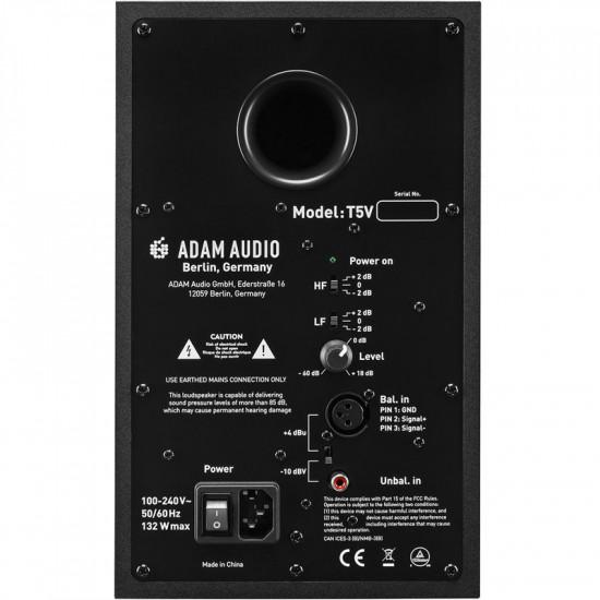 "Adam T5V Monitor Profesional de Estudio 70 watts Activo 5"""