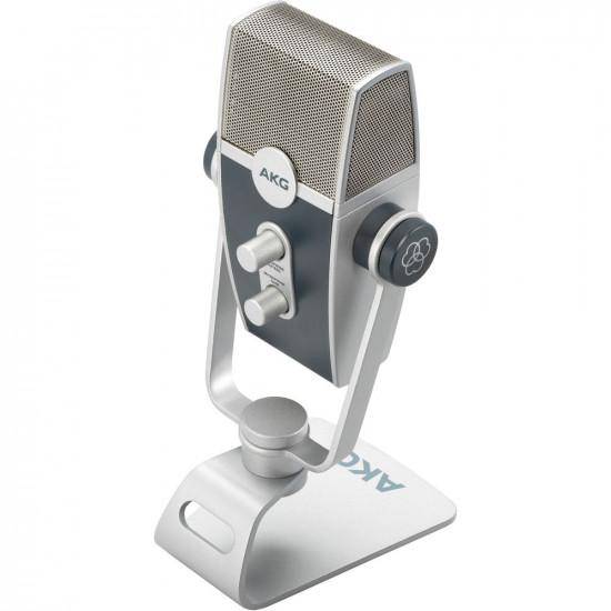 AKG Lyra Micrófono Multipatrón USB de Estudio Condensador