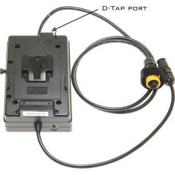 Aladdin placa para baterías V-Mount para sistemas Bi-Flex