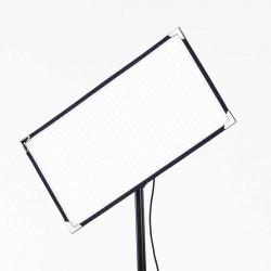 Aladdin Bi-Flex2 Bi-Color 3000-6000K Luz LED Flexible con Kit2 V-Mount y estuche de transporte