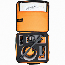 Aladdin Bi-Flex1 Bi-Color 3000-6000K Luz LED Flexible Kit con accesorios y estuche de transporte