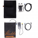 Aladdin Fabric Lite Bi-Color 2900-6300K Luz LED Flexible con Kit2 V-Mount y estuche de transporte