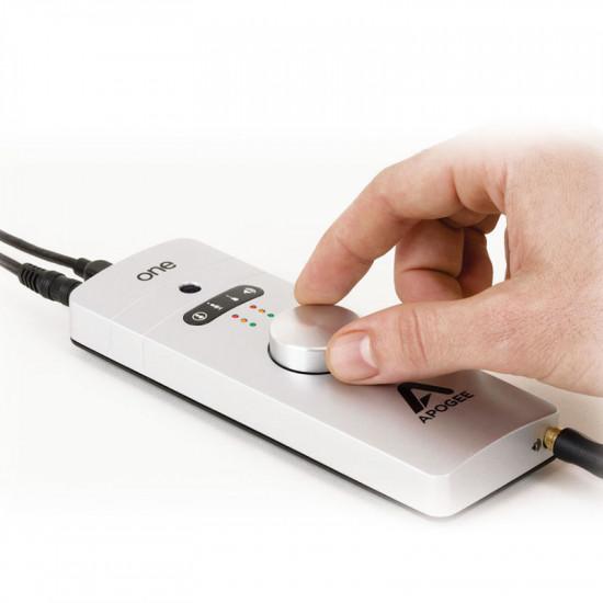 Apogee Interfaz de audio / Micrófono USB 2 IN x 2 OUT para Mac y PC