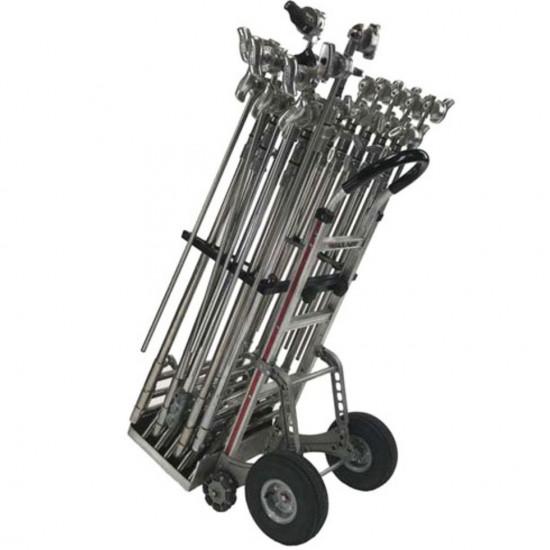 Backstage Carro para transporte de C Stands (10) Estabilizado