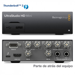 Blackmagic UltraStudio HD Mini  SDI 3G a Thunderbolt 3