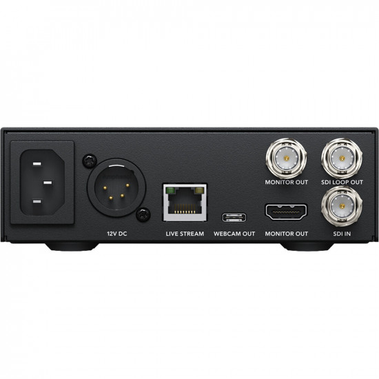 Blackmagic Web Presenter para SDI y HDMI a USB Camara WEB