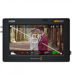 "Blackmagic 5"" 12G Video Assist 4K HDR HDMI/12G-SDI Grabador y Monitor 5"""