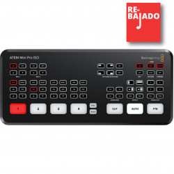 Blackmagic Design ATEM Mini PRO ISO Mixer 4 HDMI Live Streaming + REC hasta 5 señales