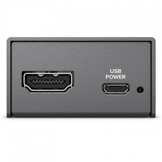 Blackmagic Design Micro Convertidor de SDI a HDMI con Power  Supply
