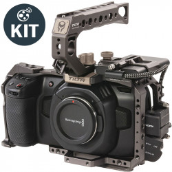 Blackmagic Design Kit Pocket 4K Camera + Basic Tilta Kit