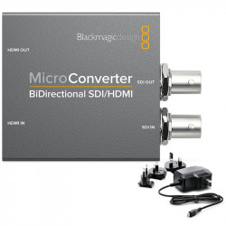 Blackmagic Design Micro Convertidor Bidireccional SDI (2) 3Gb/s a HDMI con fuente de energía