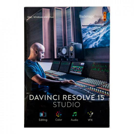 Blackmagic DaVinci Resolve Licencia (Tarjeta de Activación) Studio compatible con upgrade