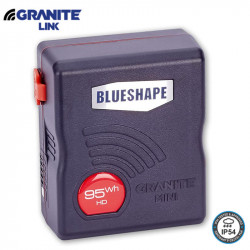 Blueshape Bateria Compacta V-Mount 92W/h 6.2Ah Granite MiniLink