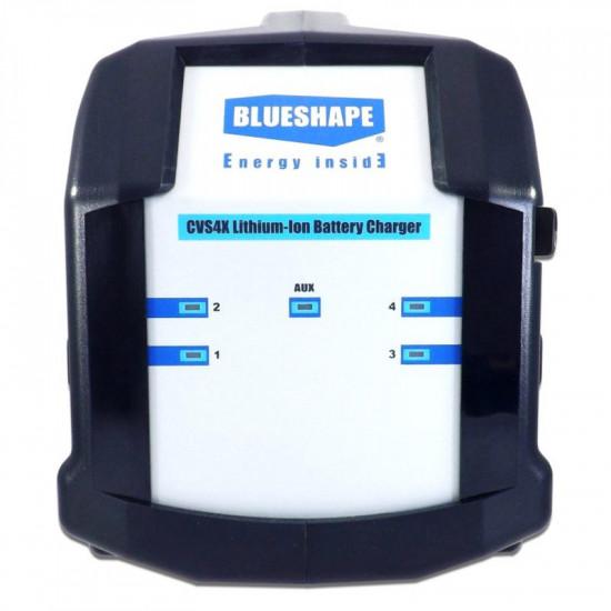 Blueshape CVS4X Cargador 4 canales V-Mount + 4pin XLR