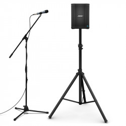 Bose S1 Pro PA Speaker Bluetooth con Stand y Mic Sennheiser