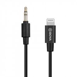 Boya BY-K1 Adaptador 3.5mm de TRS a Lighting (iphone/ipad)