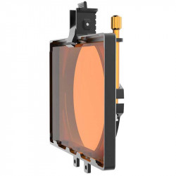 Bright Tangerine Misfit Atom MatteBox Clap-on 114mm