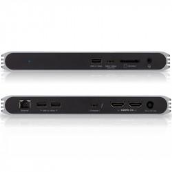 CalDigit USB-C a 2 HDMI 4K 60Hz Dock