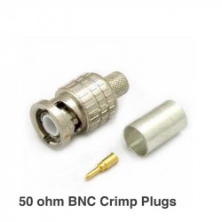 Canare BP-C31 50 ohm BNC Crimp Plugs Conector