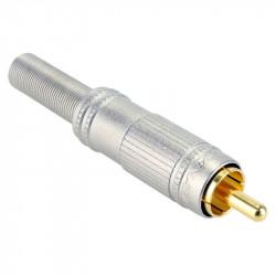 Canare F-09 Conector RCA para Cable de audio