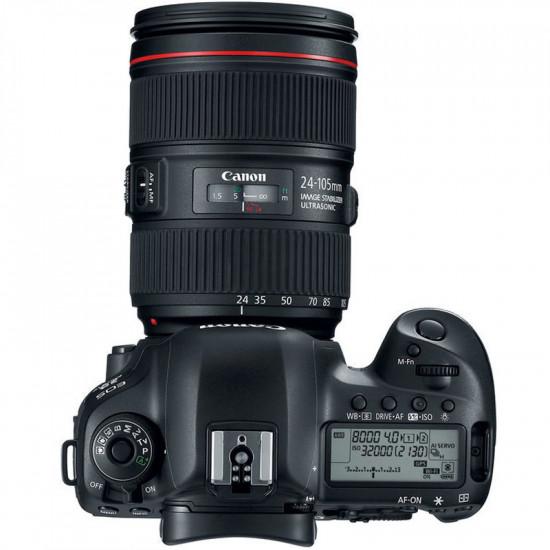 Canon 5D Mark IV Cámara DSLR con 24-105mm f/4L II