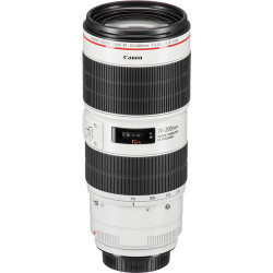 Canon Lente Zoom EF 70-200mm f/2.8L III USM Telephoto con estabilizador