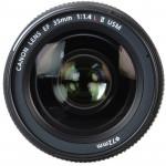 Canon Lente EF 35mm f/1.4L II USM Gran Angular