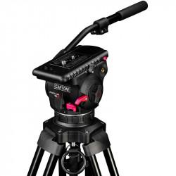 Cartoni Trípode Video Focus 12 RED Lock con Smart Lock hasta 12Kg.