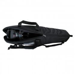 Cartoni Kit Video Focus 18 3-st StabilO CF System de cabezal y trípode de Fibra de Carbono de 100mm