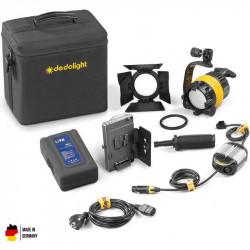 DedoLight 1-Kit Portátil Luz Día a batería DLED4-D