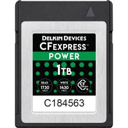 Delkin Devices DCFX1-1TB Tarjeta CFexpress 1TB 1730MB Lectura / 1430MB escritura