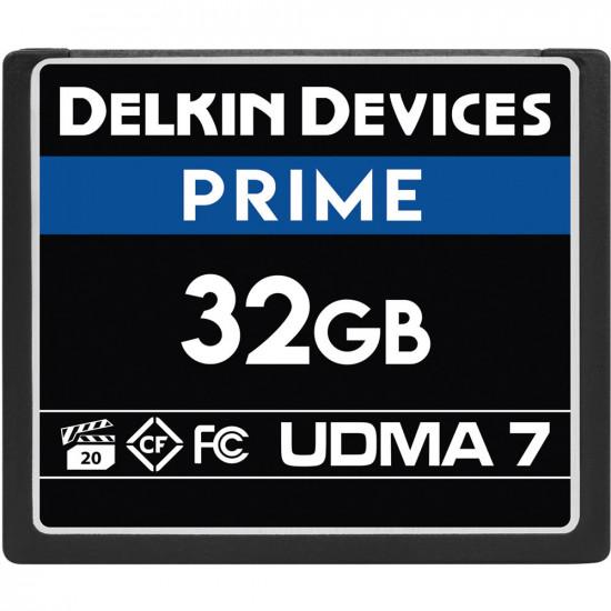 Delkin Devices CompactFlash PRIME UDMA 7 de 32GB