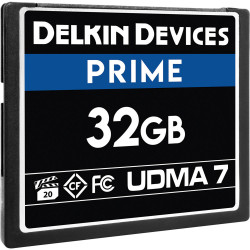 Delkin Devices CompactFlash PRIME UDMA 7 de 32GB