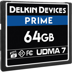 Delkin Devices CompactFlash PRIME UDMA 7 de 64GB