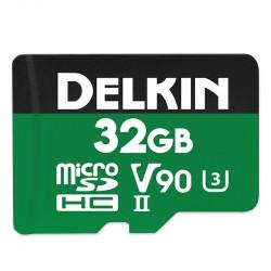Delkin Devices microSDXC Power UHS-II 32GB V90 / U3 / Clase 10