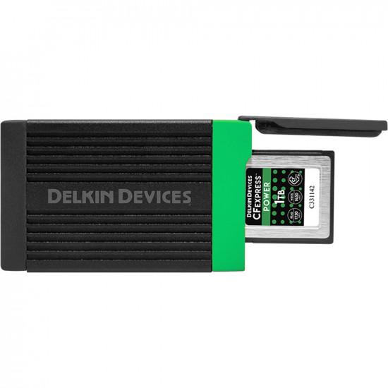 Delkin Devices DDREADER-54 Lector CFexpress USB-C 3.2 hasta 10 Gb/s