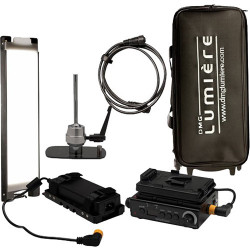 DMG LUMIERE MINI Switch KIT 1 AC y V-Mount con driver, montura Lolly Pop y Mini-Rigid Bag