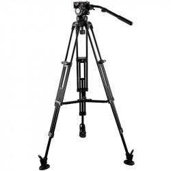 E-Image EG05A2 Cabezal Fluido GH05 + Trípode GA752  Cap 7.7kg.