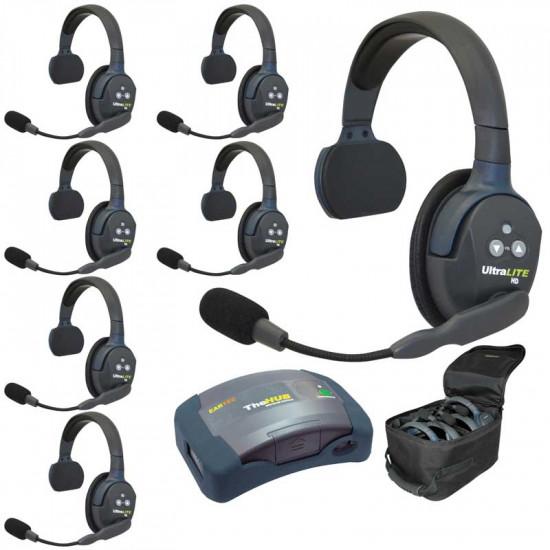 Eartec HUB 7-S Wireless Intercom (Intercomunicador) 7 Usuarios