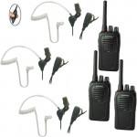 Eartec SSTSC3000LP Sistema de radio bidireccional con auriculares SST