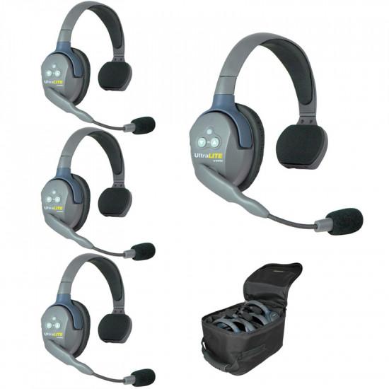 Eartec UL4SEU Wireless Intercom (Intercomunicador) 4 Usuarios