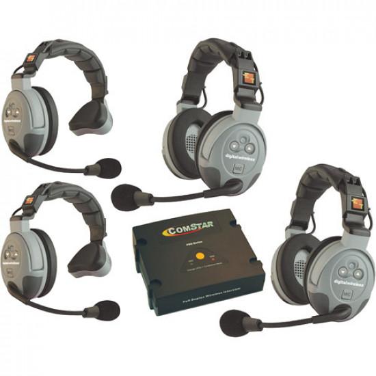 Eartec XT-4EU COMSTAR XT Wireless Intercom (Intercomunicador) 4 Usuarios