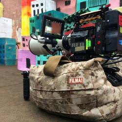 FILMA! Saddlebag Negro multi propósito para cámaras