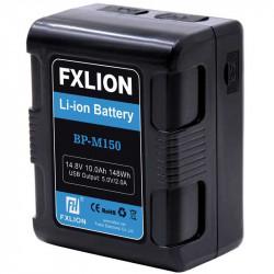 FXlion BP-M150 Baterías Lithium V-Mount Mini 148W/h Cuadrada