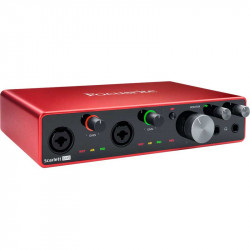 Focusrite Scarlett 8i6 8x6 USB Audio Interface (3ra generación)