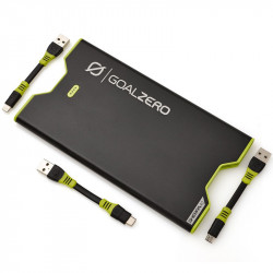 Goal Zero Sherpa 40 en Negro Batería 12000 mAh 40Wh Micro-USB, Lightning y USB-C