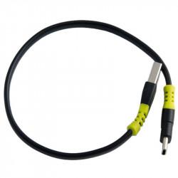 Goal Zero 98068 Cable USB-C a USB Type-A de 25 cm (color negro)