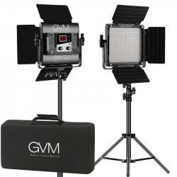 GVM 560AS Kit de 2 LED Soft Light Bi-Color