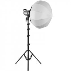 GVM LED bicolor G100W con Soft box lantern en kit